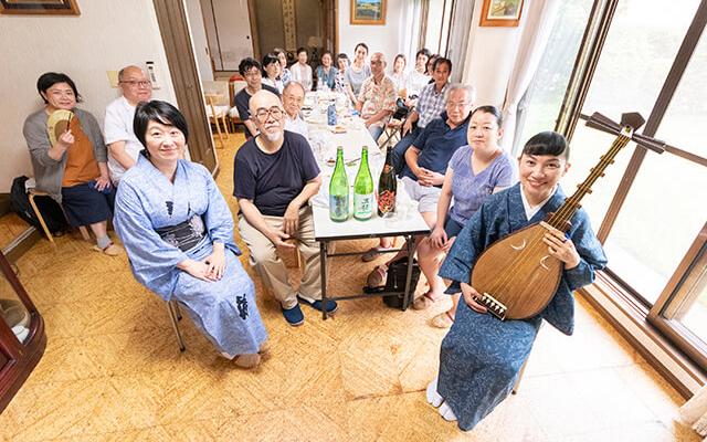 「第1回 琵琶 × 日本酒 andparty」にお邪魔しました!